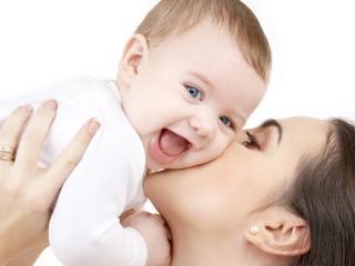 Фото женщины лет 30 с ребенком