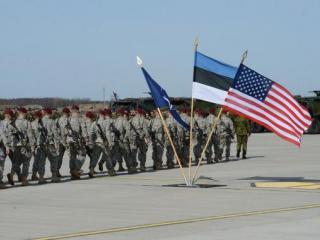 Эстония и США начали военные учения у границ с Россией