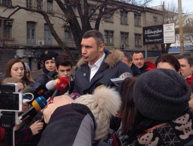 Заместитель Кличко лишился должности из-за рухнувшего моста на Шулявке