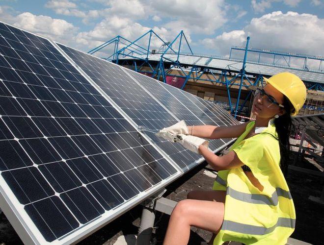 Саудовская Аравия построит в Украине солнечные электростанции