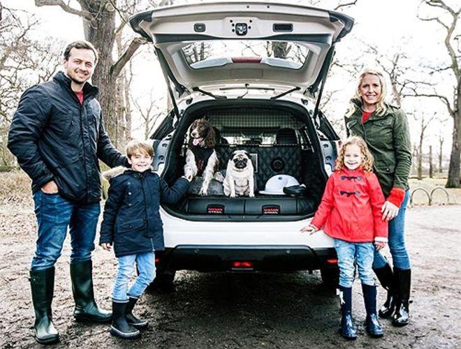 Nissan создал автомобиль для собак