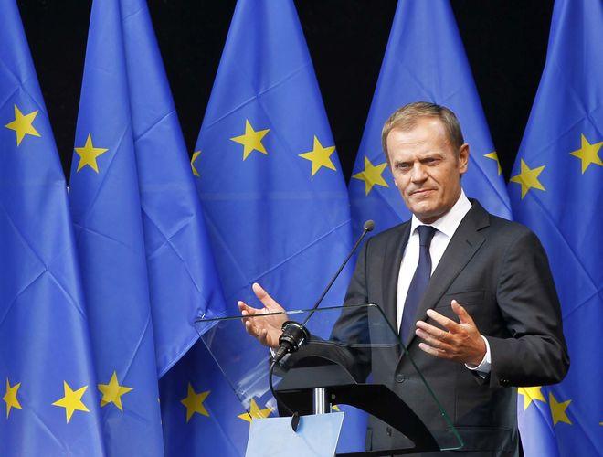 Туск опять избран председателем Европейского Совета