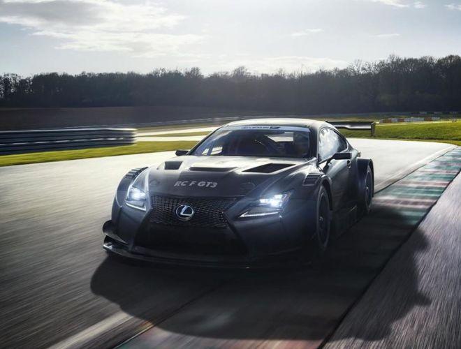 Lexus представил гоночный спорткар