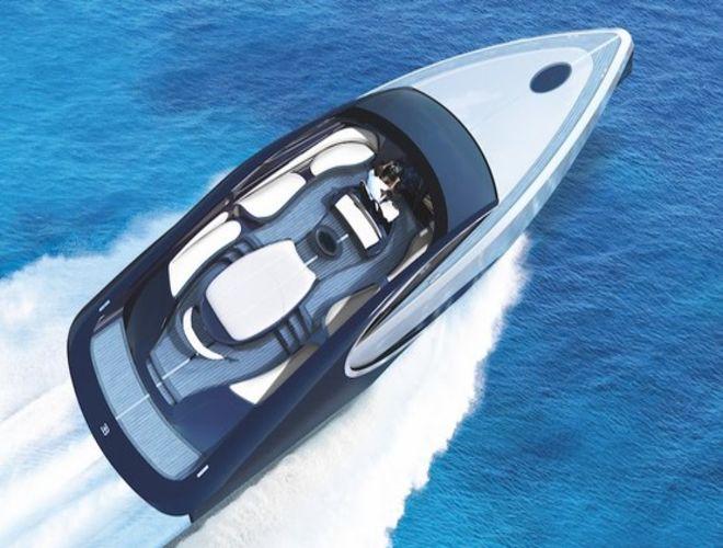 Bugatt представил яхту с мангалом и джакузи на борту