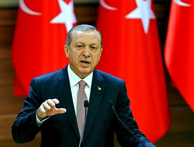 Запад вооружает террористов на Ближнем Востоке - Эрдоган