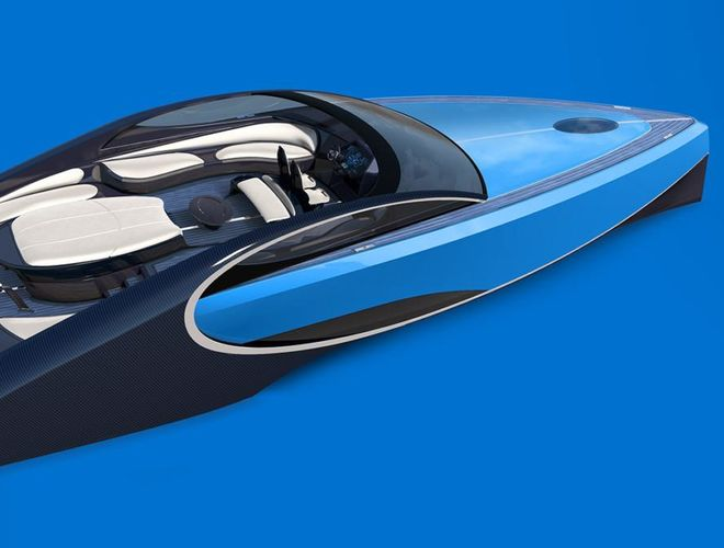 Bugatti решила создать яхту в духе гиперкара Chiron