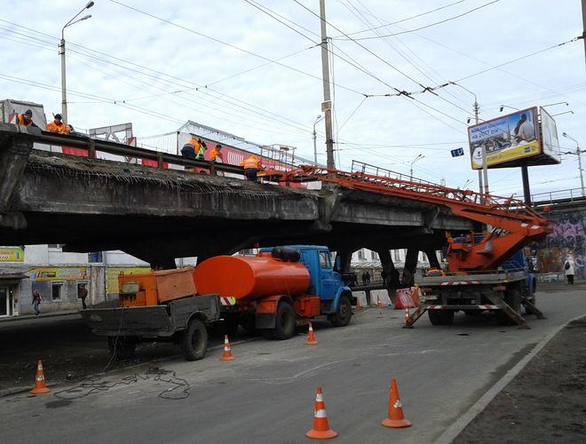 Для реконструкции Шулявского путепровода выбрали три варианта