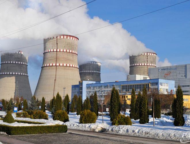 На Ривненский АЭС отключили энергоблок