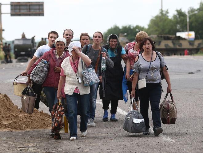 В Украине насчитали 1,6 млн переселенцев