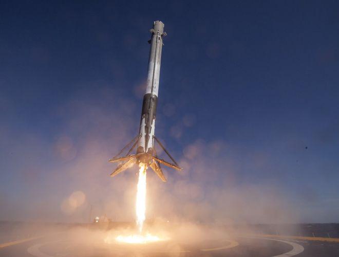 SpaceX отложил запуск ракеты Falcon 9