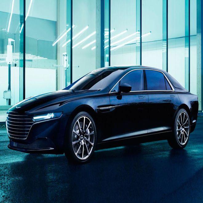 Aston Martin будет выпускать роскошные седаны