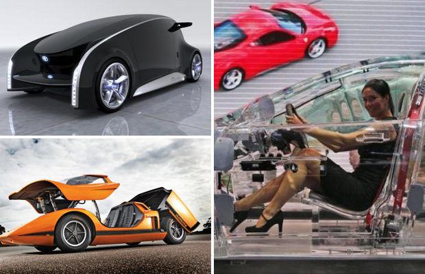 Названы самые необычные автомобили разных лет
