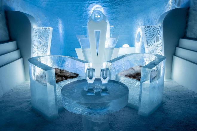 В Швеции создали ледяной отель