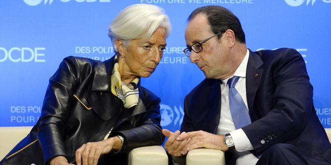 Олланд: Взрыв в офисе МВФ - это теракт