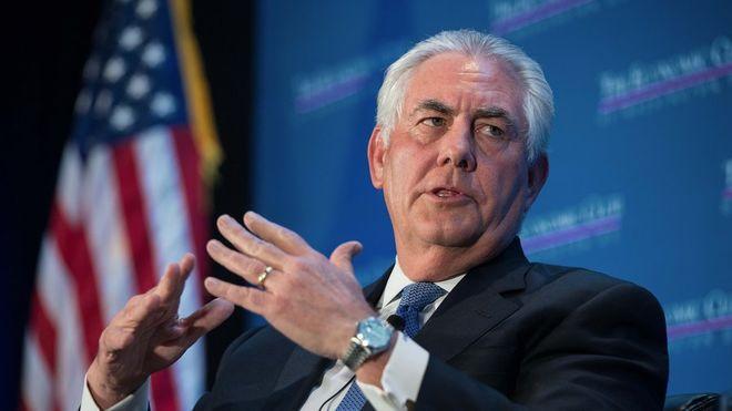 Госсекретарь США Тиллерсон приедет в Россию