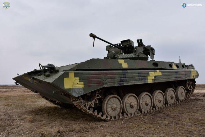 """""""Шквал"""" и """"Стилет"""": в Украине испытали новые модули для БМП"""