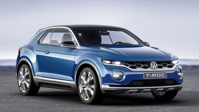 Каким будет компактный кроссовер Volkswagen на базе Golf