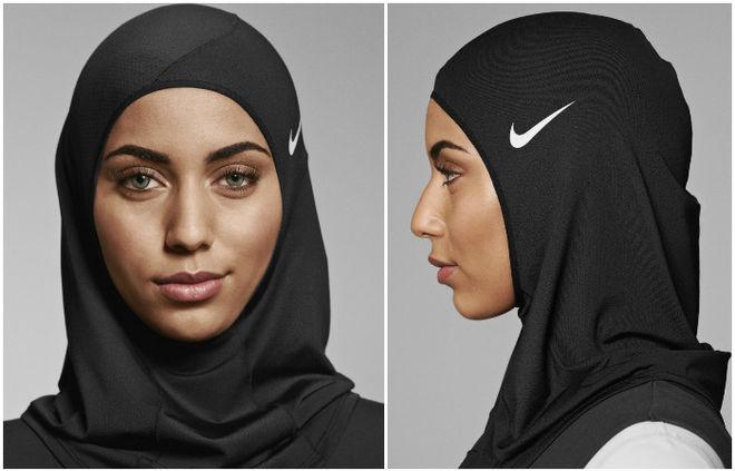 Nike представил первый хиджаб для занятий спортом