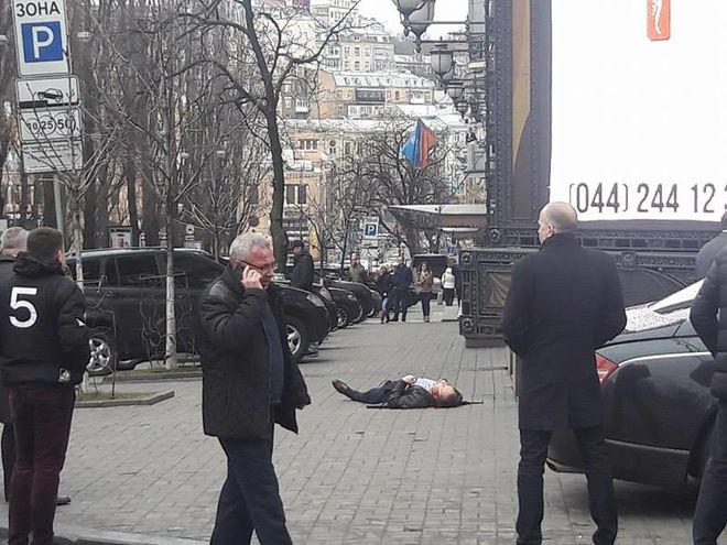 Наглое убийство в Киеве: на глазах у прохожих застрелили российского депутата