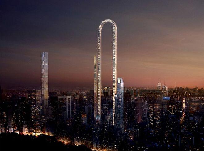 В США планируют строить самый длинный в мире небоскреб