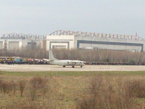 Ан-132 впервые поднялся в небо