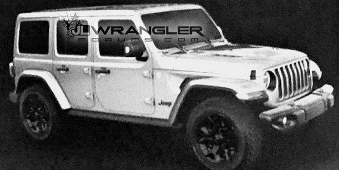 Показали, какой будет новая версия культового внедорожника Jeep Wrangler