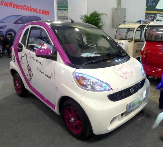 В Китае представили копию Smart fortwo за $2700