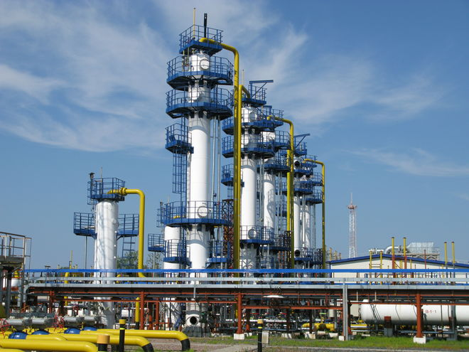 Сколько газа осталось в запасе Украины