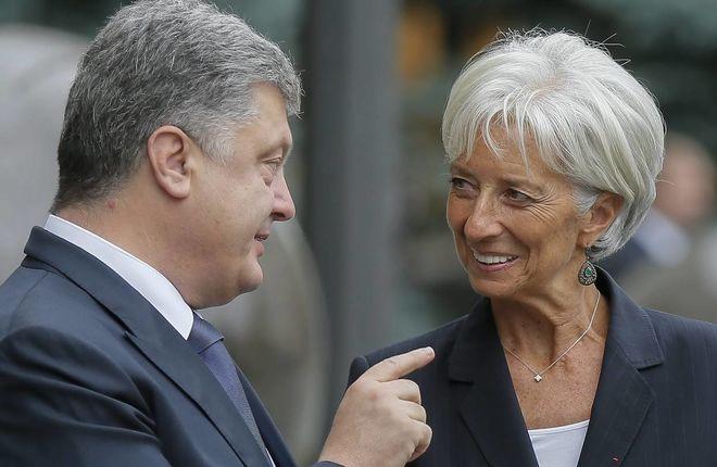 Порошенко провел переговоры с Лагард