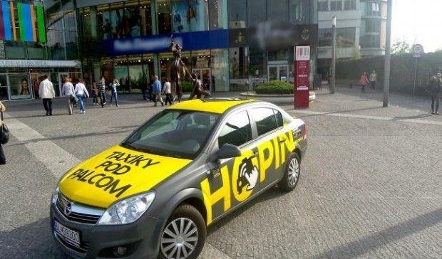 Из Украины уходит словацкий сервис такси