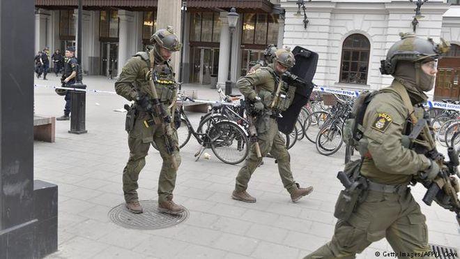 Теракт в Стокгольме: что известно к этому моменту