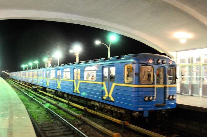 На Пасху метро в Киеве будет работать на час дольше