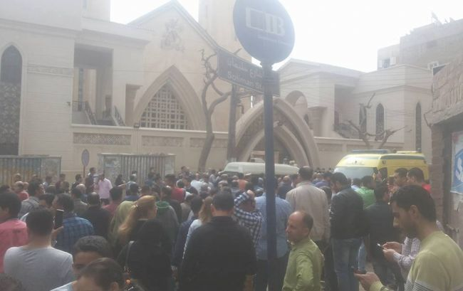 В Египте прогремел взрыв возле церкви, десятки погибших и раненых