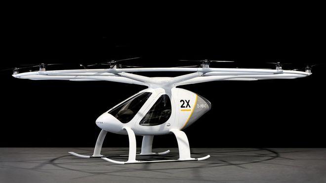 В Германии создали летающее такси
