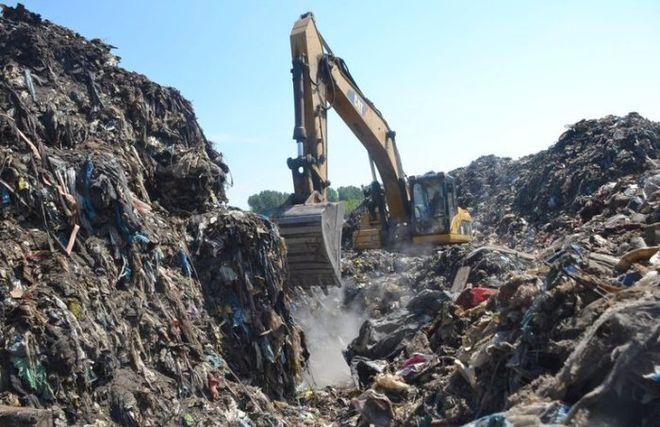 Львовский мусор нашли в еще одной области