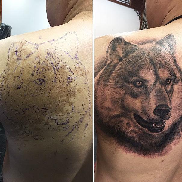 Как родимки превратить в татуировки