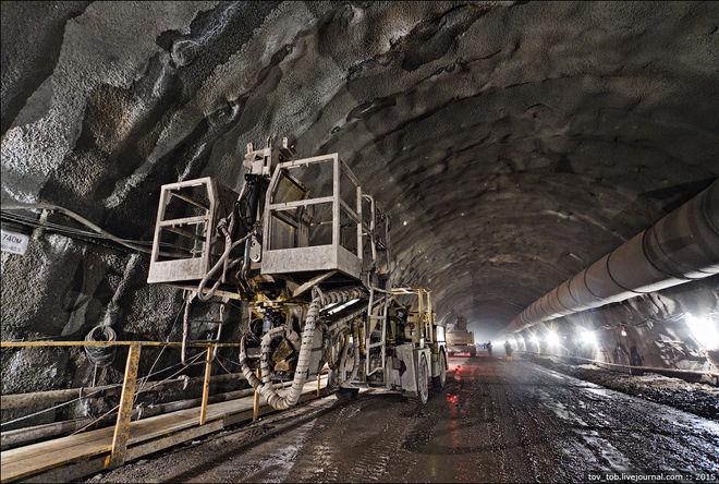 В Украине откроют новый тоннель