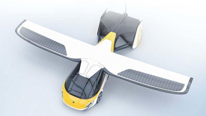 Словаки запускают в серийное производство летающий автомобиль