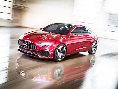 Mercedes-Benz показал свой новый седан