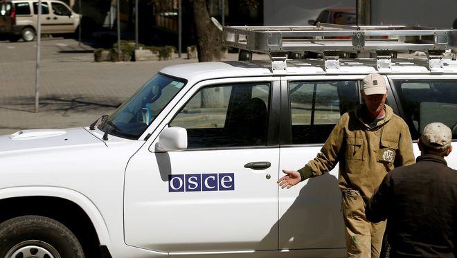 """В """"ЛНР"""" подорвали автомобиль ОБСЕ: есть погибшие и раненные"""