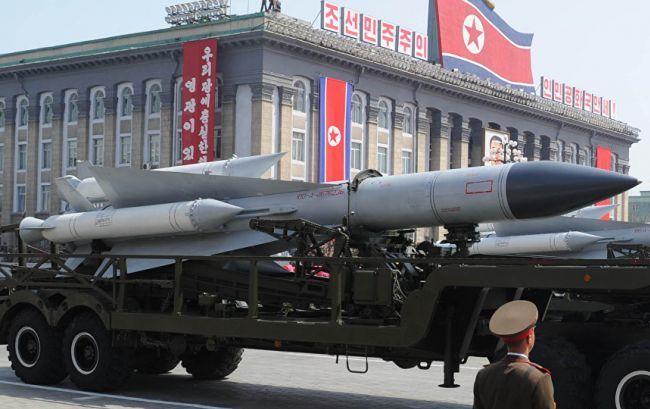 Северная Корея провела неудачное испытание баллистической ракеты
