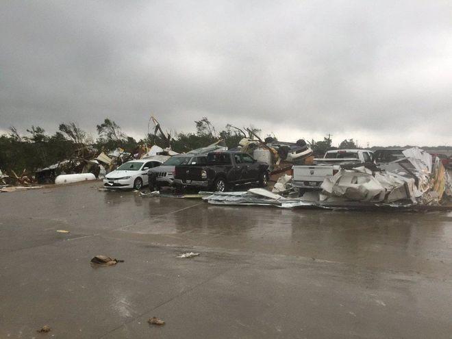 Из-за торнадо в Техасе погибли пять человек