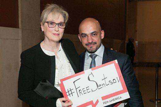 Мэрил Стрип присоединилась к акции в поддержку Олега Сенцова