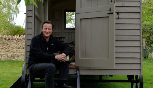 Дэвид Кэмерон купил дизайнерский сарай для написания мемуаров