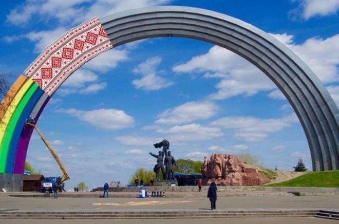 Арка Дружбы народов пополнится новым орнаментом
