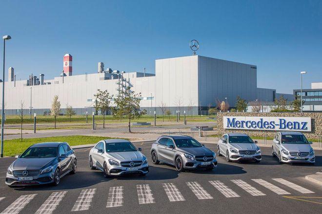 На заводе Mercedes-Benz показали, как собирают автомобили