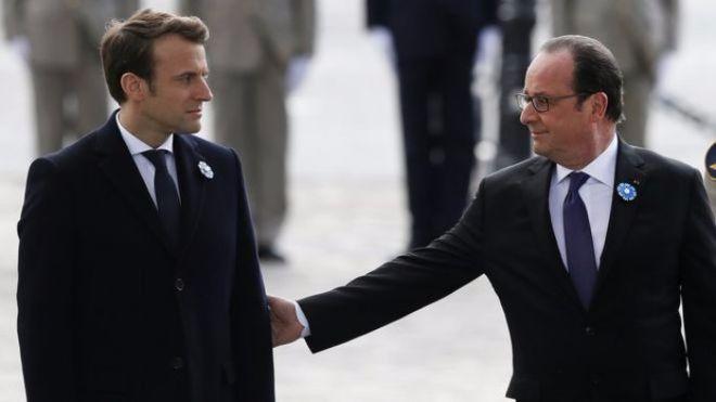 Объявлена дата инаугурации нового президента Франции