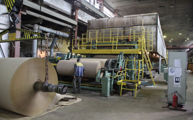 В Украине возобновил работу крупнейший бумажный комбинат