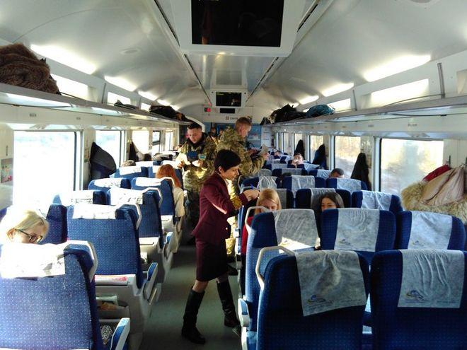 Украинцы стали активно путешествовать поездами в Европу