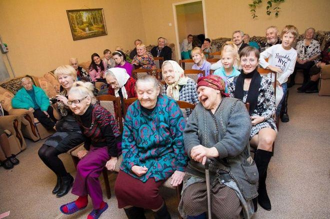 Мероприятия в домах престарелых платные дома престарелых минск